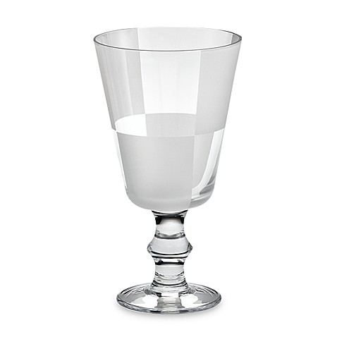 Nautica® Frost Block 12-Ounce Goblets (Set of 4)