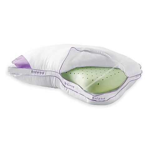 Brookstone 174 Biosense 174 Memory Foam 2 In 1 Shoulder Pillow