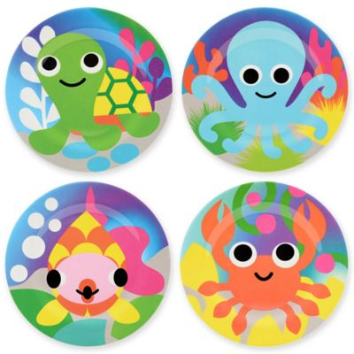 French Bull® Ocean Kids' Plates (Set of 4)