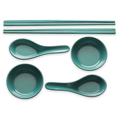 Green Serving Set