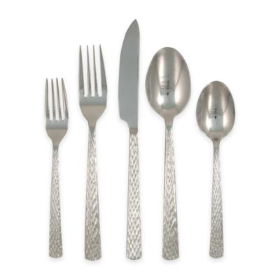Ginkgo Clifton 20-Piece Flatware Set in Stainless Steel