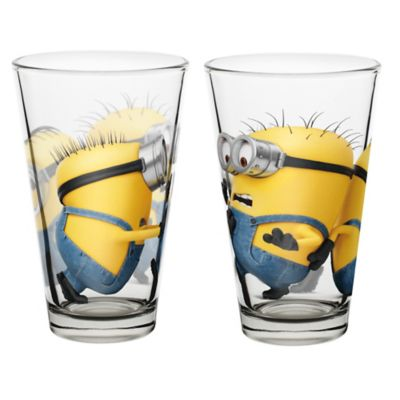 Zak! Designs® Despicable Me 2 Glass Tumblers (Set of 2)