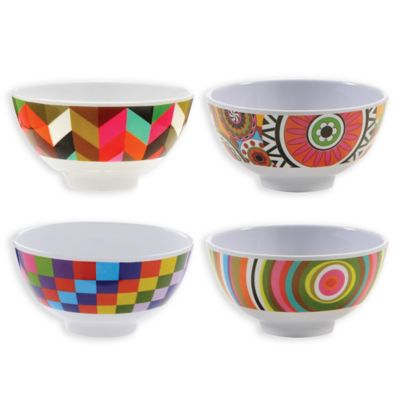 French Bull® Mini Bowls in Multi (Set of 4)