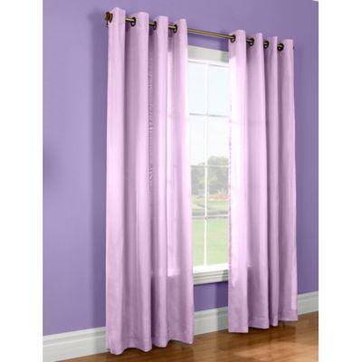 Thermavoile 84-Inch Window Curtain Panel in Pink