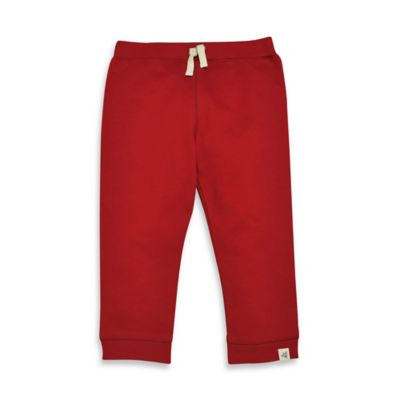 Burt's Bees Baby® Size 4T Organic Cotton French Terry Sweat Pant in Red