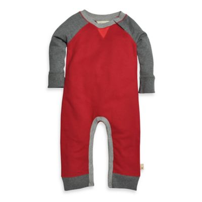 Burt's Bees Baby™ Size 24M Organic Cotton French Terry Coverall in Red