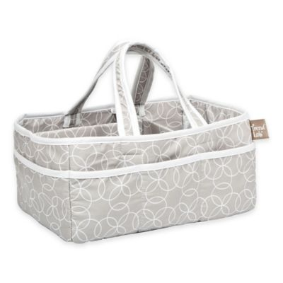 Grey Diaper Caddy
