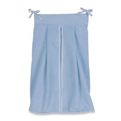 Blue Diaper Stacker
