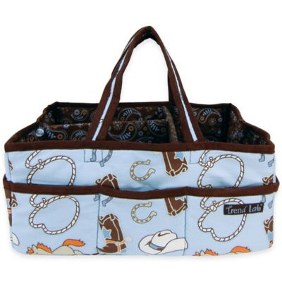 Trend Lab® Cowboy Baby Storage Caddy