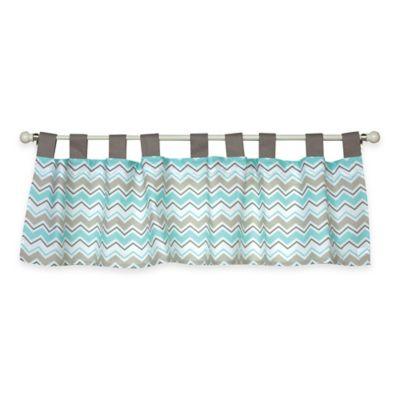 Aqua and Gray Bedding