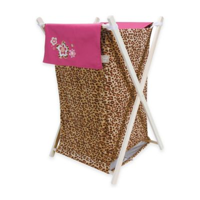 Trend Lab® Berry Leopard Hamper