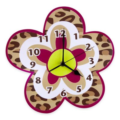 Trend Lab® Berry Leopard Wall Clock