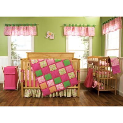 Trend Lab® Sherbet 3-Piece Reversible Crib Bedding Set