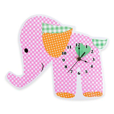 Trend Lab® Sherbet Elephant Wall Clock