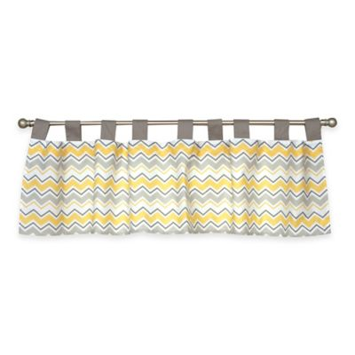 Trend Lab® Buttercup Zigzag Window Valance
