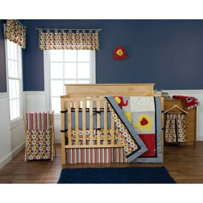 Trend Lab® Elephant Parade 3-Piece Crib Bedding Set