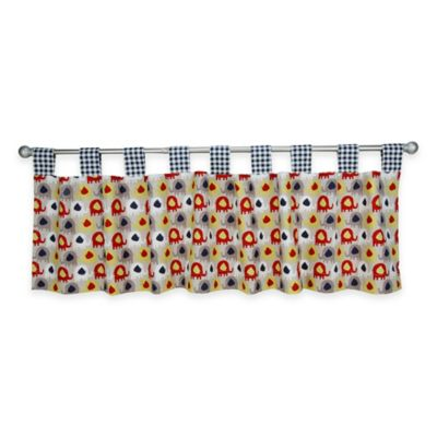 Trend Lab® Elephant Parade Tab Top Window Valance
