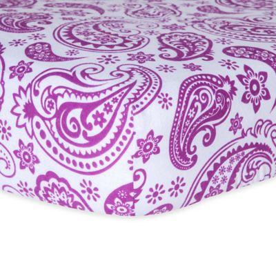 Paisley Crib Sheets
