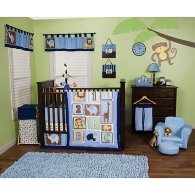 Trend Lab® Jungle 123 3-Piece Crib Bedding Set