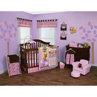 Trend Lab® Lola Fox and Friends 3-Piece Crib Bedding Set