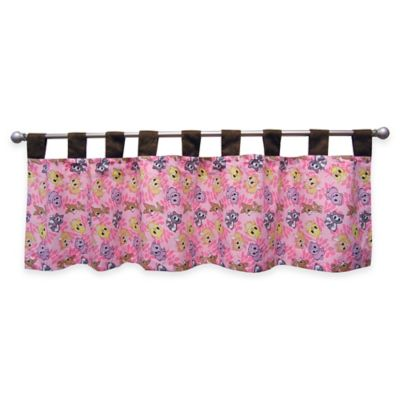 Trend Lab® Lola Fox and Friends Tab Top Window Valance