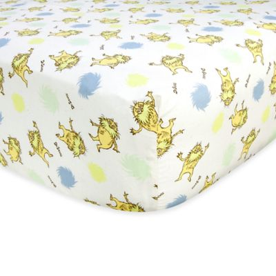 Trend Lab® Dr. Seuss™ The Lorax Fitted Crib Sheet