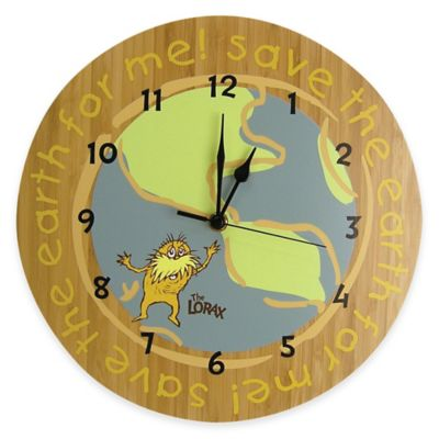 Trend Lab® Dr. Seuss™ The Lorax Wall Clock
