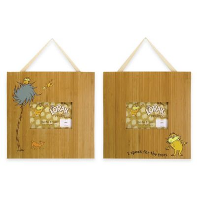 Trend Lab® Dr. Seuss™ The Lorax Picture Frames (Set of 2)