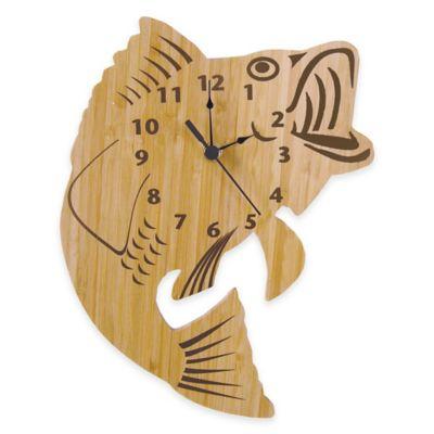 Trend Lab® Northwoods Fish Wall Clock