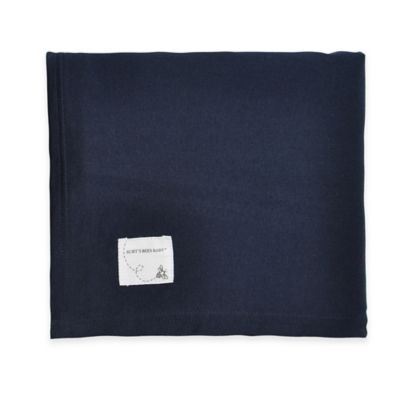 Burt's Bees Baby™ Organic Cotton Crib Skirt in Blueberry