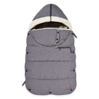 SKIP*HOP® Stroll & Go Three-Season Toddler Footmuff in Heather Grey