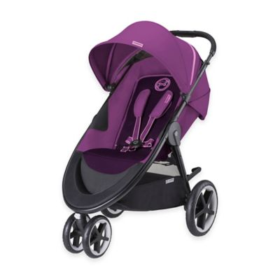 CYBEX Gold Eternis M3 Stroller in Grape Juice