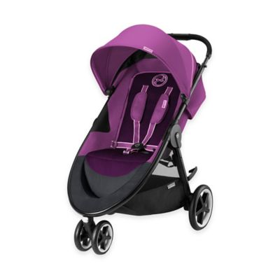 Cybex Gold Agis M-Air 3 Stroller in Grape Juice