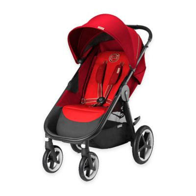 Cybex Gold Eternis M4 Stroller in Hot & Spicy