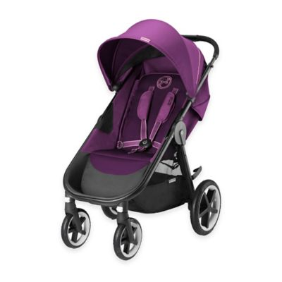 Cybex Gold Eternis M4 Stroller in Grape Juice