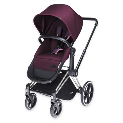 Cybex Priam 2-in-1 Light Seat in Grape Juice Denim