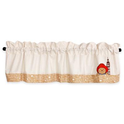 Trend Lab® Paddington Bear™ Straight Rod Pocket Window Valance