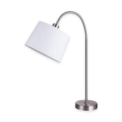 28-Inch Adjustable Head Table Lamp