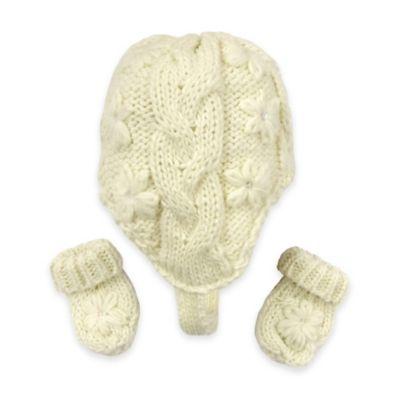 Ivory Hats & Mittens