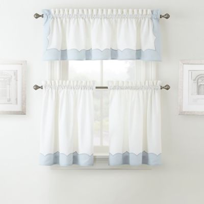 Waterford® Cassia Window Valance in Beige