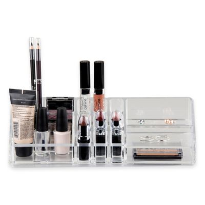 Home Basics® Cosmetic Organizer in Clear