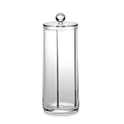 Home Basics® Cosmetic Pad Holder in Clear