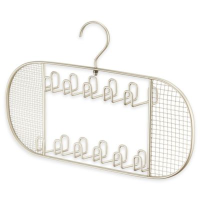 InterDesign® Axis Jewelry Hanger in Satin Silver