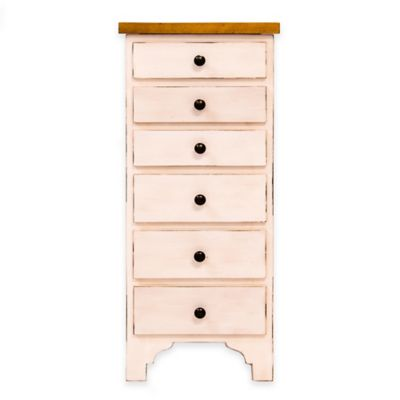Hives & Honey Lilly Jewelry Armoire in White