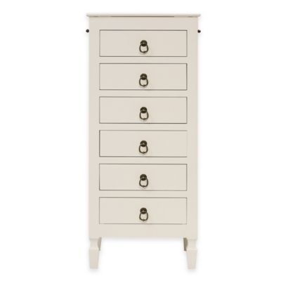 Hives & Honey April Jewelry Armoire in White