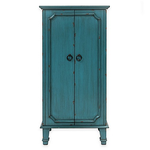 Hives & Honey Cabby Jewelry Armoire in Turquoise - www ...