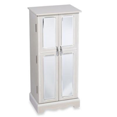 Hives & Honey Chelsea Jewelry Armoire in White