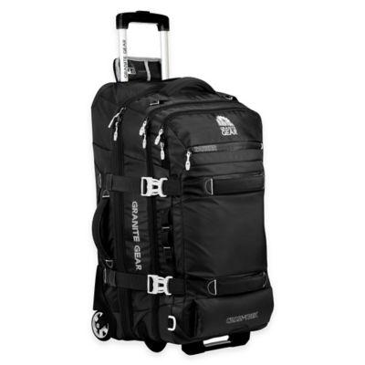 Granite Gear Cross Trek 26-Inch Rolling Duffle Bag in Black