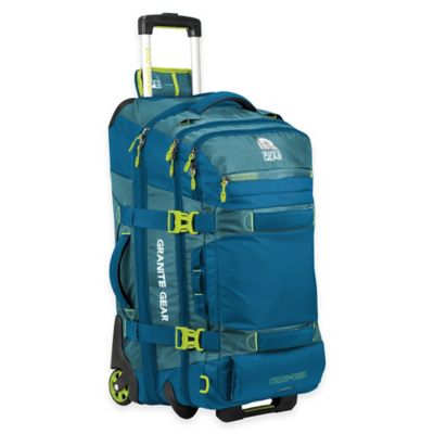 Granite Gear Cross Trek 26-Inch Rolling Duffle Bag in Blue