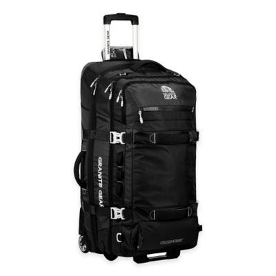 Granite Gear Cross Trek 32-Inch Rolling Duffle Bag in Black